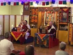 Lama Chuck Farewell Ceremony2