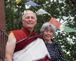 Lama Chuck and Mary